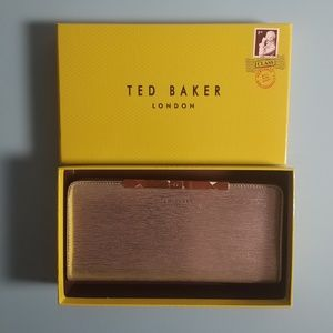 Ted Baker Metallic Wallet